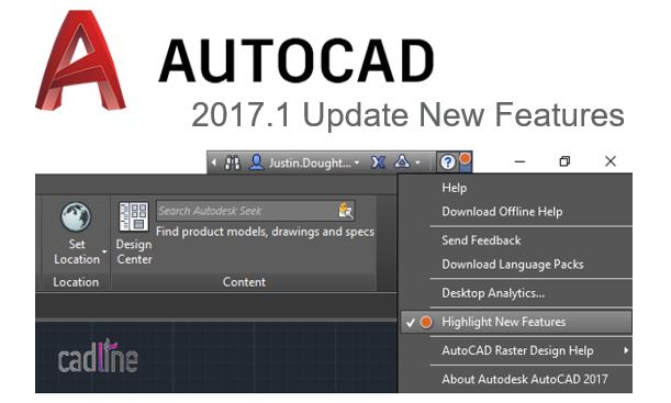 Nouveauté AutoCAD 2017